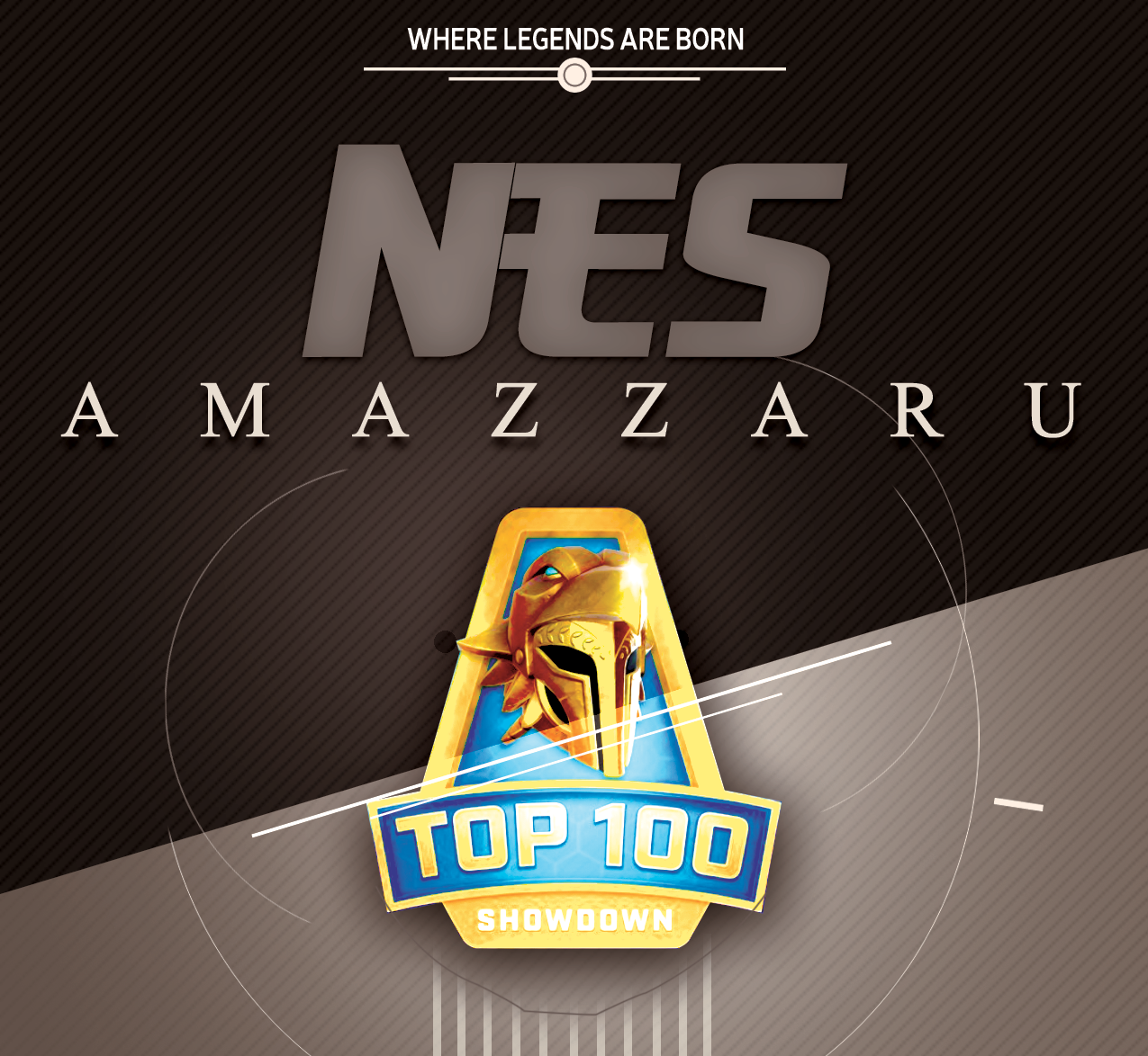 Amazzaru remporte le Top100 Showdown Darwin Project