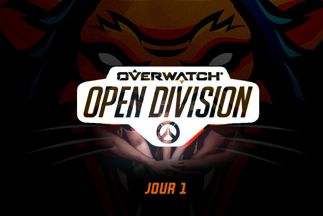 Début de l'Open Division Overwatch